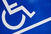 wheelchair and ramp symbol