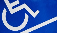 wheelchair and ramp symbol