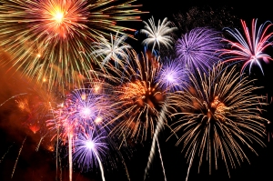 fireworks-of-various-colors-bu-19160972